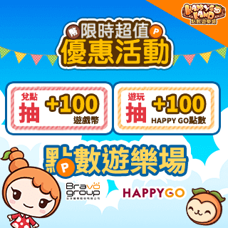 點數遊樂場 遊玩競猜最高免費贈100點!